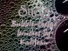 Suds - Bubble Texture Brushes by kalijean