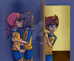 DON'T ENTER, TENMA!! by adricarra
