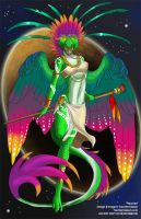 [Character Design] Heavenly Anthros:  Haumea by Ulario