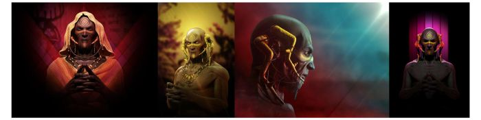 The Yellow King Comps by korridan
