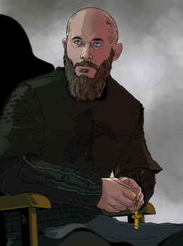 King Ragnar Lothbrok by MelanieDarling