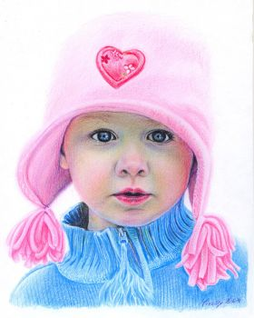 Girl in Pink by Mirally