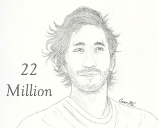 Mark and 22 Million Subs! by AaronML