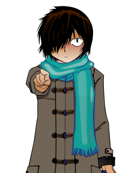 Mysterious Girl Friend X - Winter Large Size by daul
