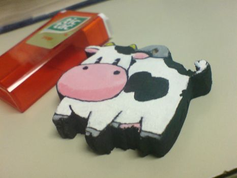 Harvest Moon Cow Charm by Anime-Angel
