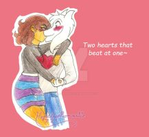 Happy Valentines Day Undertale by hopelessromantic721