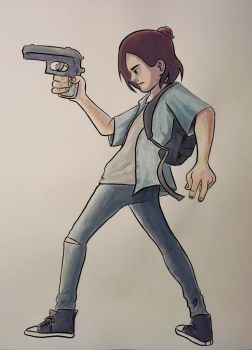 TLOU 2: Ellie by GoldenCam
