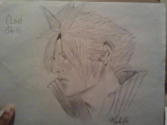 Cloud Strife by Chellemybell90
