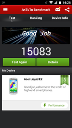Acer Liquid E2 My Best Antutu Benchmark by mikadoboy82