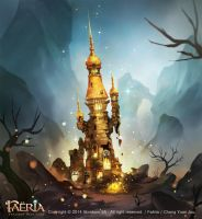 Faeria-Deserted Tower by ChangYuanJou