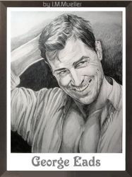George Eads i Pencil by honeylips1