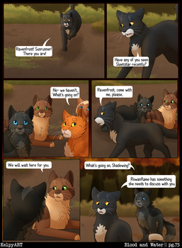 Warriors: Blood and Water - Page 75 by KelpyART