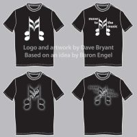 Band T-shirt designs by Catspaw-DTP-Services