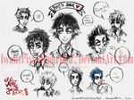 Billie Joe Armstrong - sketch by IwannaPissInYourBed