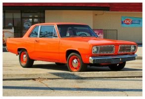 A 1968 Plymouth Valiant by TheMan268