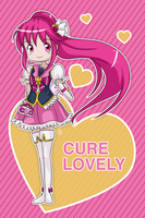 Happiness Charge Precure - Cure Lovely by AngelDranger