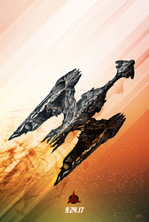 Discovery Countdown: Klingon Sarcophagus Ship by GeekFilter