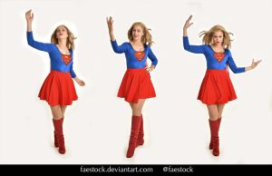 Supergirl  - Stock model reference pack 23 by faestock