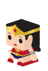 Wonder Woman Cubby by kspudw