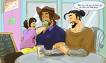 McHanzo week - Day 6 by Thea0605