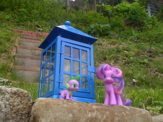 WIP- Doctor Whoof Toy TARDIS by PixelKitties
