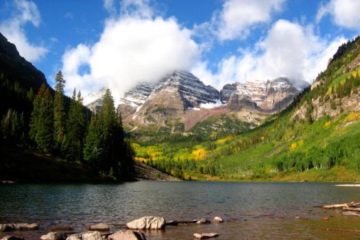 Maroon Bells by TheCronkodile