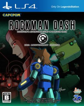[BOX ART] ROCKMAN DASH - 20th Anniversary Edition by HechEff