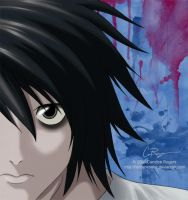 Death Note - L by fishtankbabe