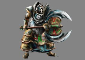 Iron Knuckle (The Legend of Zelda) by Advent-Hawk