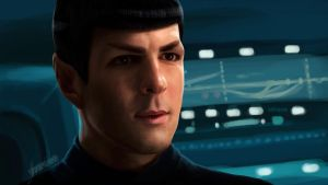 Spock_Zachary Quinto by shereline