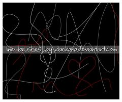 Line brushes 02 by darviana