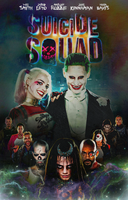 Suicide Squad Poster (EXTENDED CUT) by Panchecco