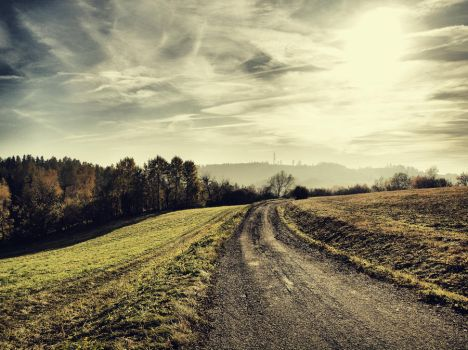 autumn road 6 by FrantisekSpurny