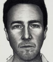 Edward Norton by Doctor-Pencil