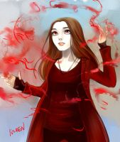Scarlet Witch by Ka-ren