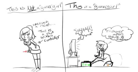 What Is A 'Gamergirl. And What Isn't by ThisIsMyDerpiverse