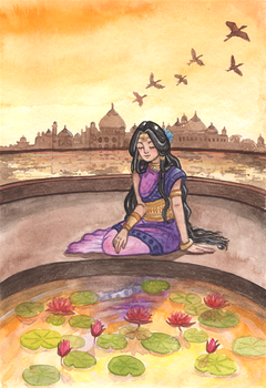 Back in India by Kirschpraline
