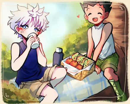 Picknick by elvirarawrr