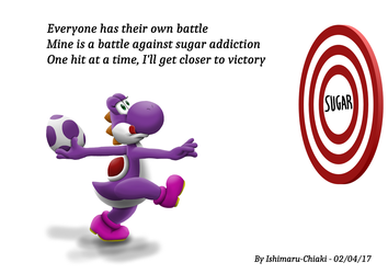 My battle against sugar addiction by Ishimaru-Chiaki