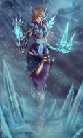 Aelia, The Fist of the Storm by IronCollapse