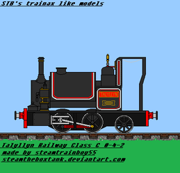 TR No.1 Talyllyn by steamtheboxtank