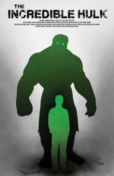 Another Hulk movie poster by AlexHorakDesigns