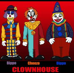 HORROR - Clownhouse by Lordwormm