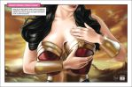 Breast Cancer Campaign Wonder Woman by Halfy