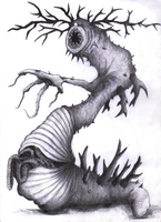 Horned Worm by Georgeact