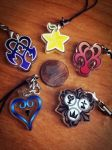Kingdom Hearts Phone Charms by KuchikixRukia
