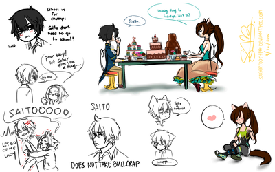 Saito doodles by SabertoothFH
