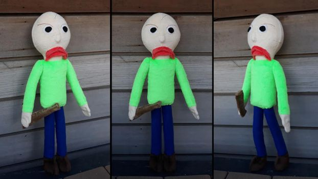 Baldi's Basic game plush by roobbo