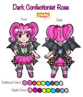 Chibi Dark Confectionist Rose by Magical-Mama