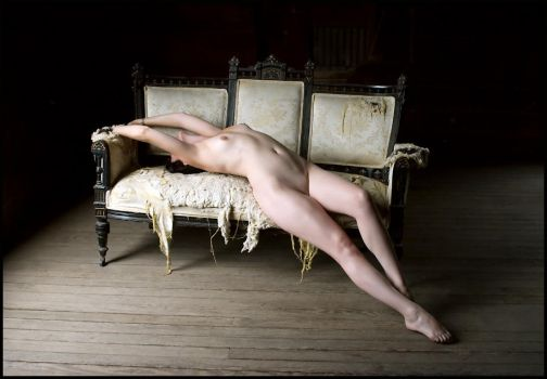 Nude, Reclining 4 by darkmatterzone